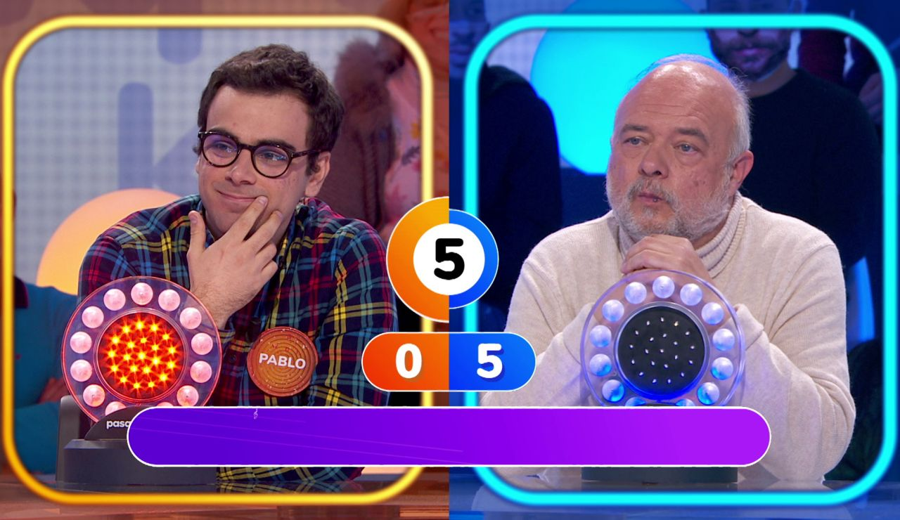 Pablo y César, perdidos en su primer duelo musical por culpa de 'Toy soldiers'