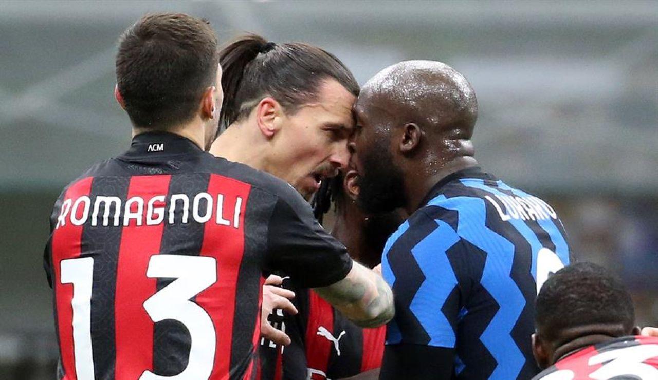 """Ibrahimovic contra Lukaku, choque de titanes: """"Os jodo a ti y a tu mujer"""""""