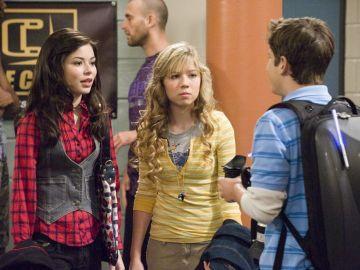 Los protagonistas de 'iCarly'