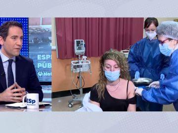 """Teodoro García Egea, secretario del PP: """"El ministro de Sanidad hace actos electorales cuando no podemos ni abrazar a nuestra madre"""""""
