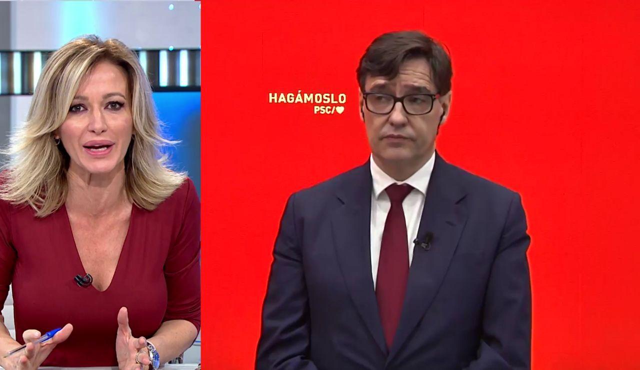 Salvador Illa en Antena 3
