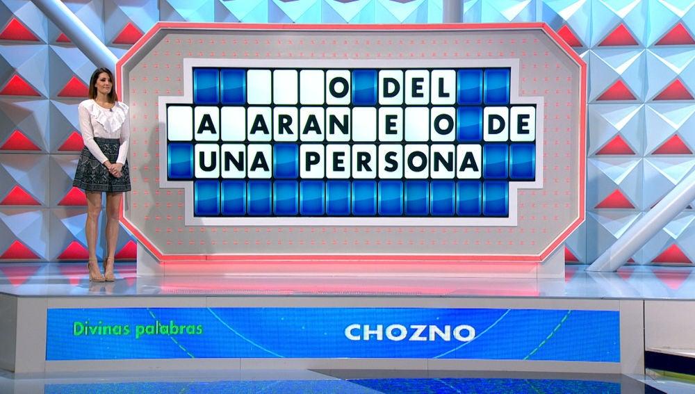 Chozno o chozna, el adjetivo que ha puesto contra las cuerdas a los concursantes