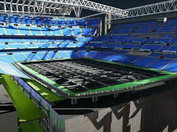 Así funcionará el césped retráctil del nuevo Santiago Bernabéu para poder realizar conciertos y otros eventos