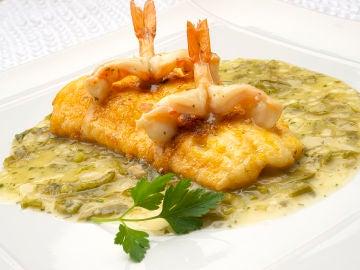 "El pescado ""interesante"" de Arguiñano: bacalao fresco con langostinos"