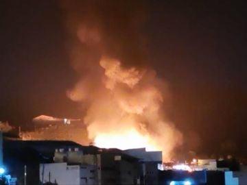 Incendio Canarias