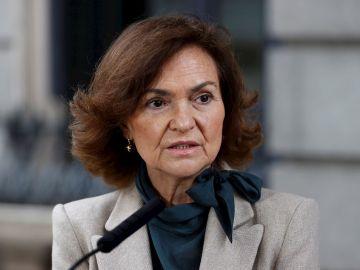 Vicepresidenta Carmen Calvo