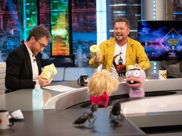 ¡100.000 rollos de papel higiénico! La surrealista compra de El Monaguillo a nombre de 'El Hormiguero 3.0'