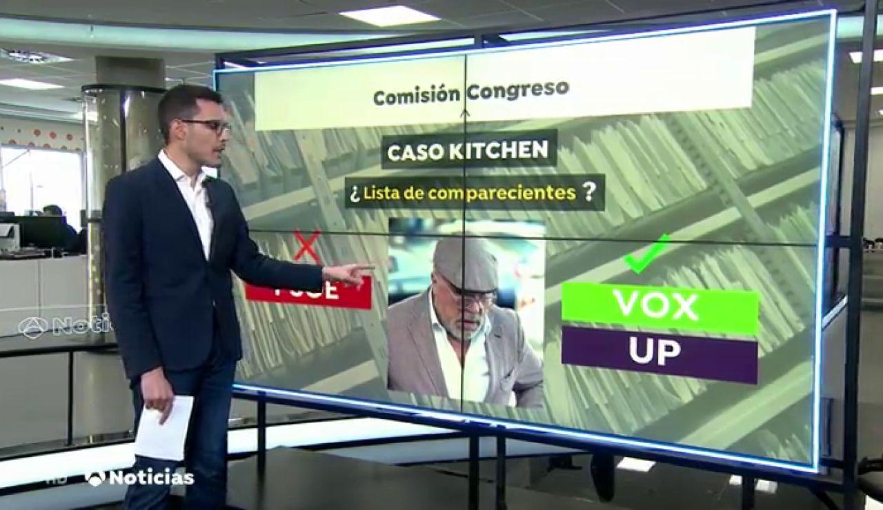 Vox se citará con Villarejo si no acude a la comisión de la 'Kitchen'