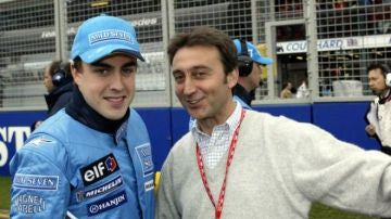 Muere Adrián Campos, expiloto de Minardi, pionero de la Fórmula 1 en España y 'descubridor' de Fernando Alonso