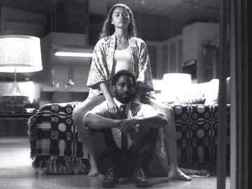 Zendaya y John David Washington en 'Malcolm & Marie'
