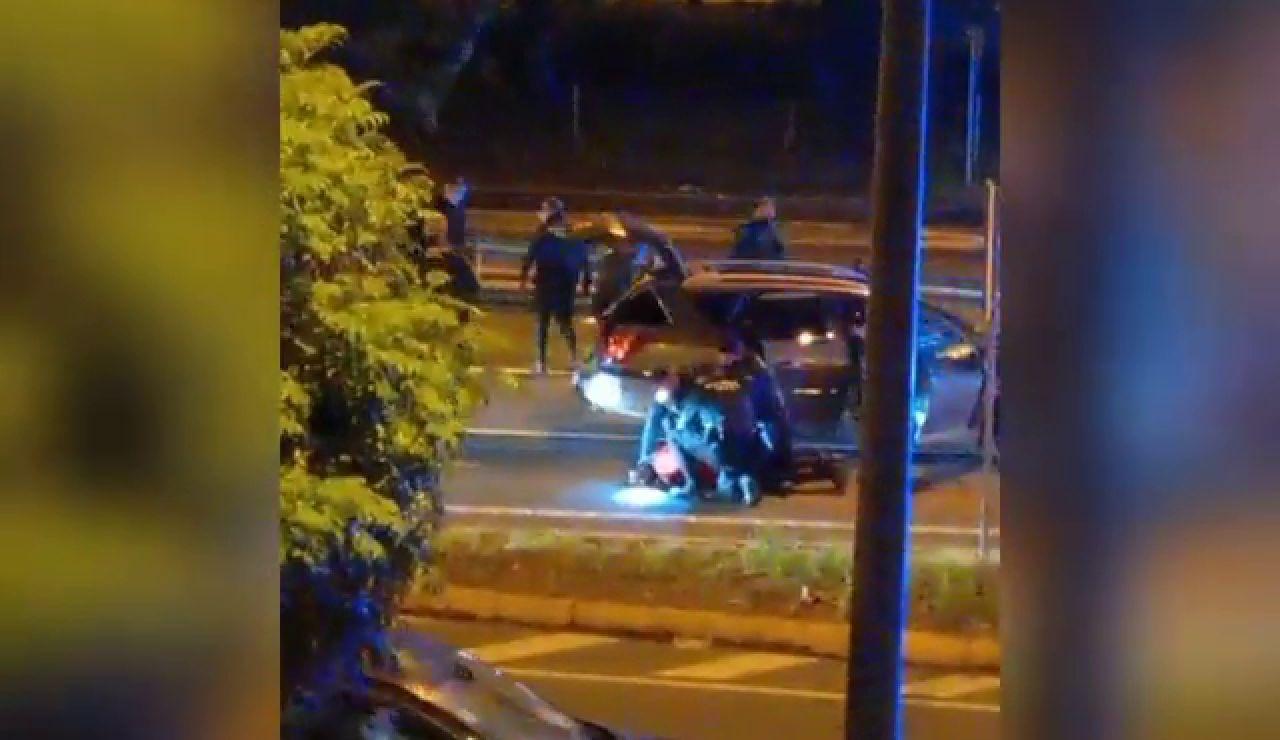 Tres detenidos en Utrera tras una persecución policial con disparos por un intento de robo