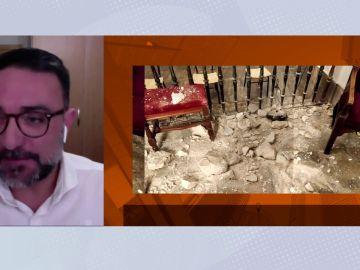 El vídeo del terremoto de Granada sorprendiendo a los integrantes de un pleno telemático