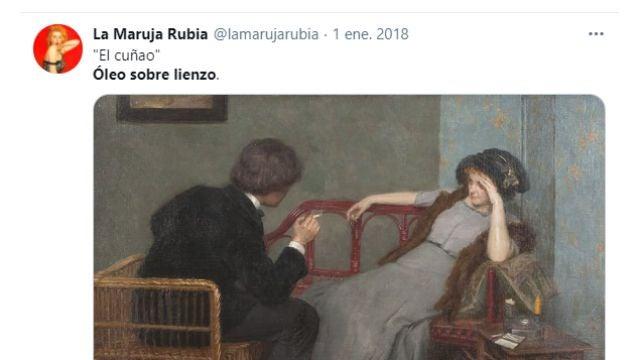 Tuit de @lamarujarubia