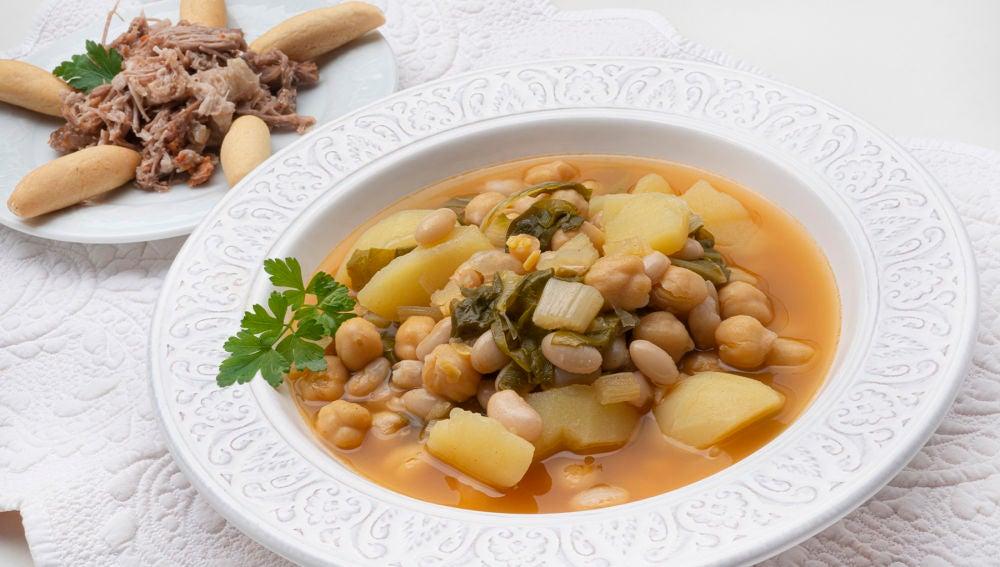 Cocido de acelgas: una receta con historia, de Karlos Arguiñano