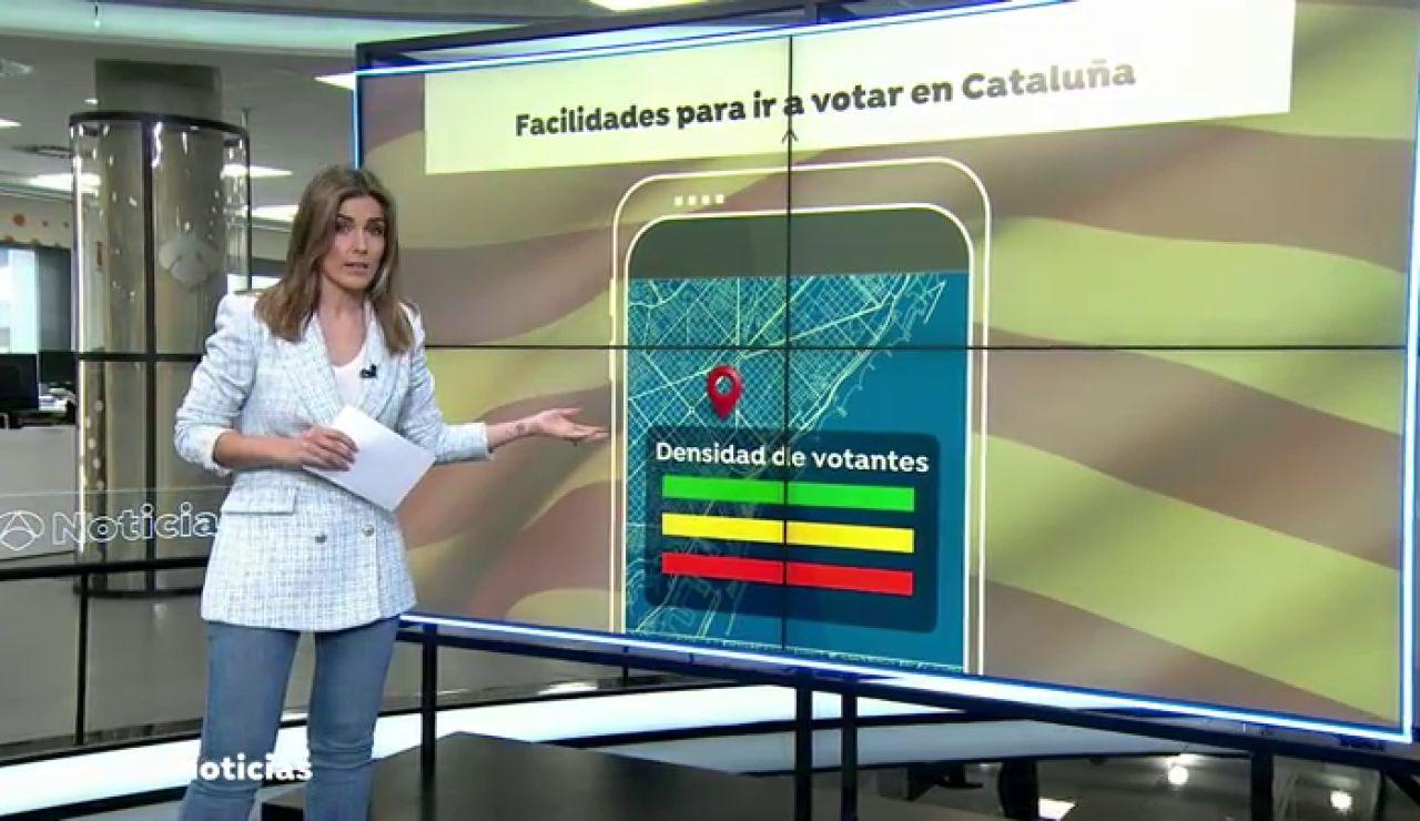 Cataluña pone en marcha una app para evitar contagios el día de las elecciones