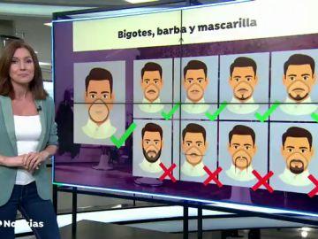 La guía de Dinamarca para que sus sanitarios luzcan barbas y bigotes que no dificulten el uso correcto de las mascarillas