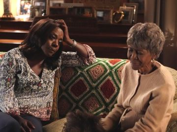 Viola Davis y Cicely Tyson en 'How to get away with murder'