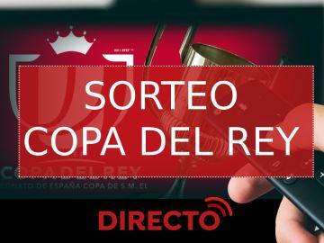 Sorteo de la Copa del Rey de cuartos de final hoy, vídeo en streaming en directo