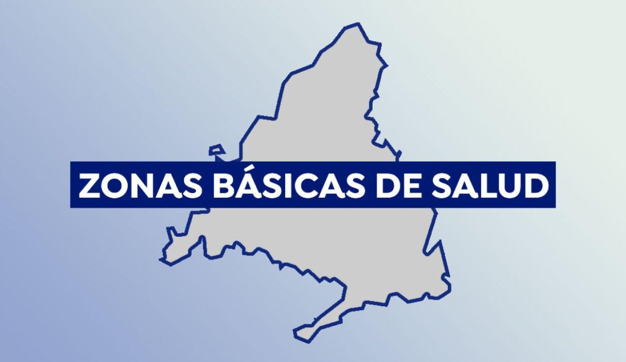Zonas básicas de salud de Madrid confinadas hoy