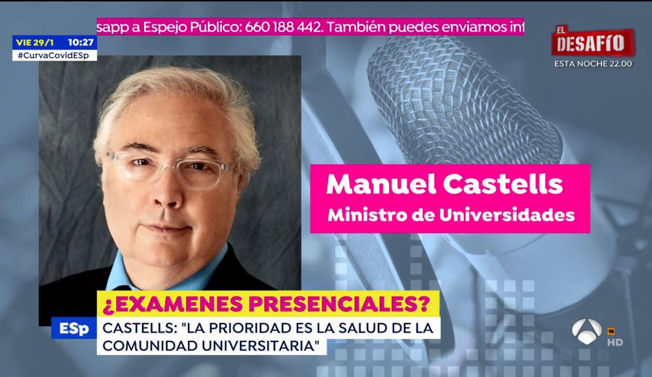 Manuel Castells acusado de populismo por los rectores universitarios