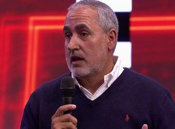Jorge Salvador responde a David Bustamante en directo ante su queja