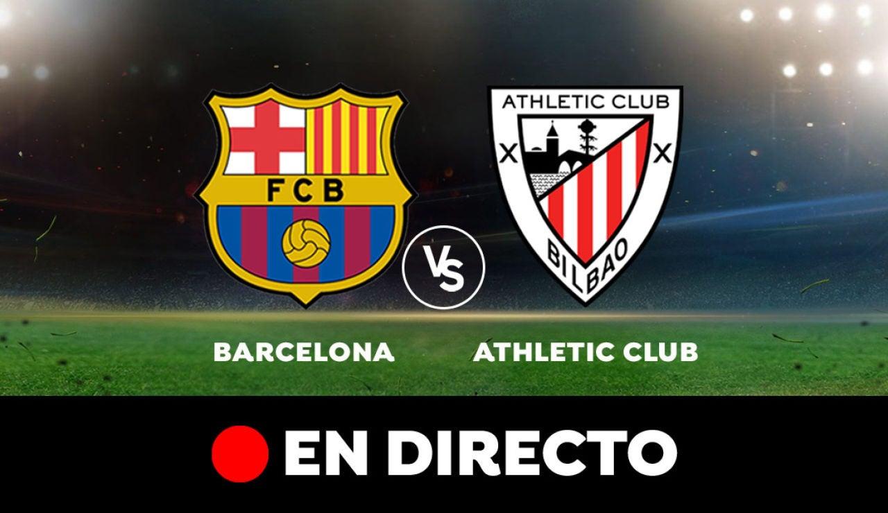 Barcelona - Athletic: Partido de hoy de Liga Santander, en directo