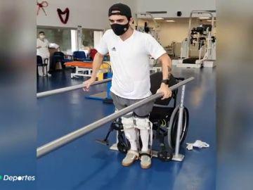 """Ander, el canterano del Athletic que se quedó tetrapléjico tras tirarse a la piscina: """"La vida es muy bonita"""""""