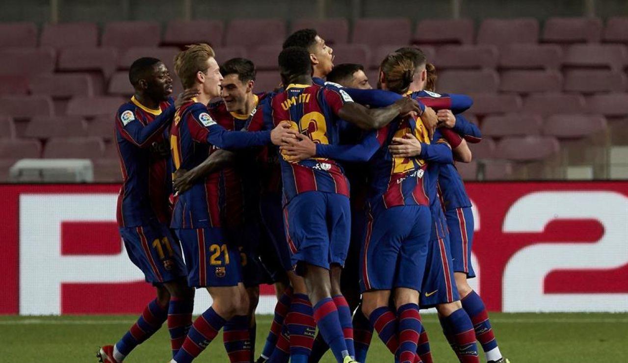 Messi y Griezmann tumban al Athletic y el Barcelona se pone segundo en Liga