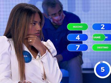 Rocío Dúrcal complica la prueba del equipo azul en '¿Dónde Están?'