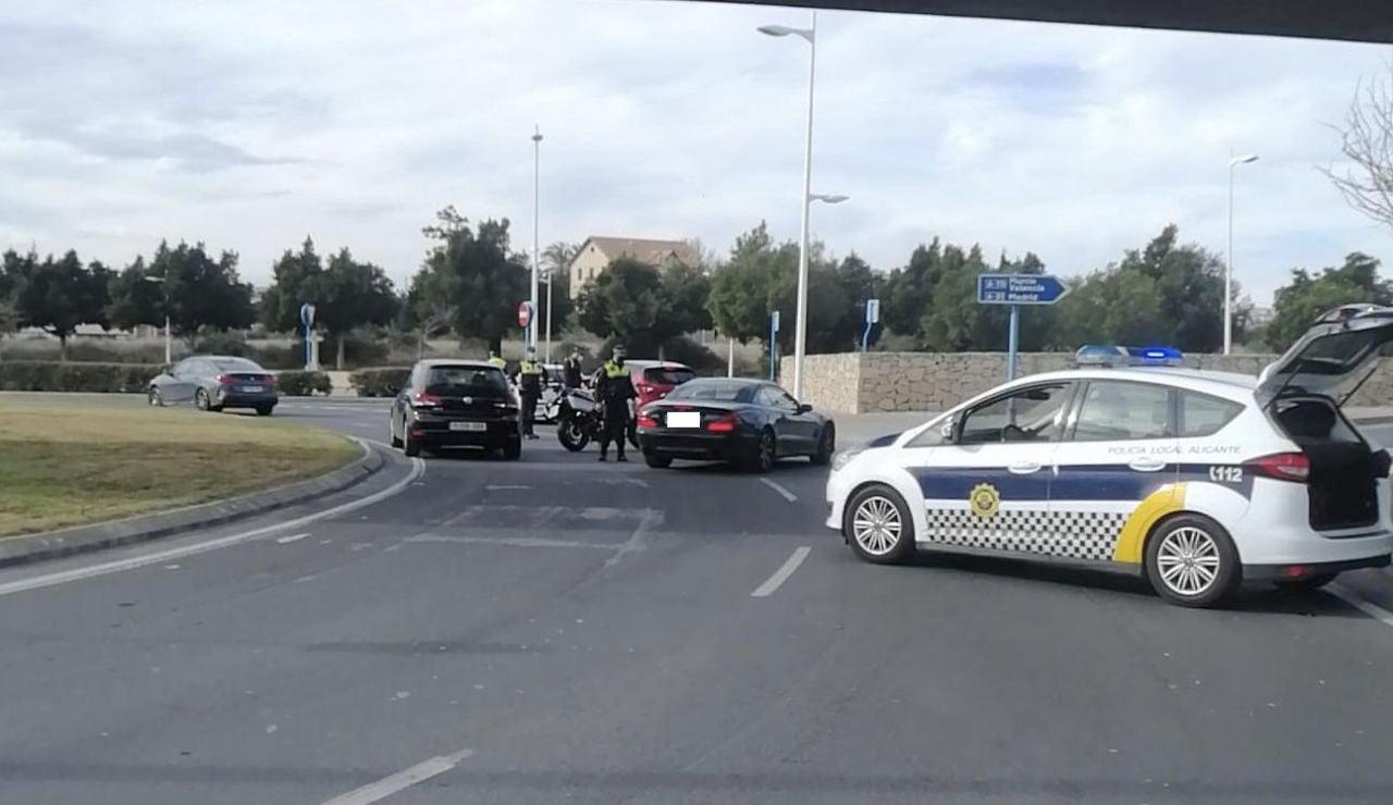 La Policía Local impuso 359 denuncias por quebrantar el cierre perimetral de la ciudad de Alicante