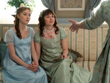 Daphne y Eloise en 'Los Bridgerton'
