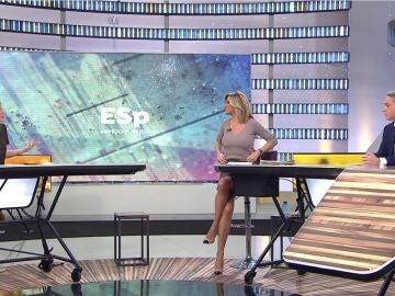 Vicente Vallés y Sandra Golpe en Espejo Público.