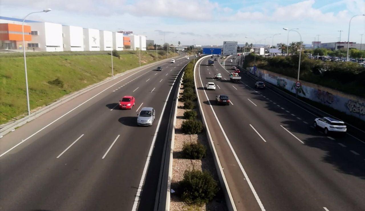 La velocidad máxima en la Vía de Cintura de Palma se reduce a 80 km/h