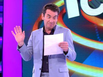 Arturo Valls revela la polémica nota que le ha dejado Juanra Bonet en el camerino