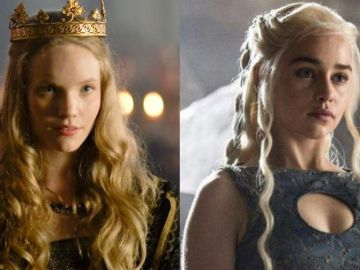 Tamzin Merchant en 'Los Tudor' y Emilia Clarke en 'Juego de Tronos'