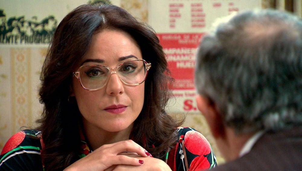 Las dudas de Cristina, ¿desconfía de Manolita?