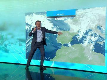 La previsión del tiempo hoy: Temperaturas en ascenso antes de la llegada de un nuevo frente frío que entrará por Galicia