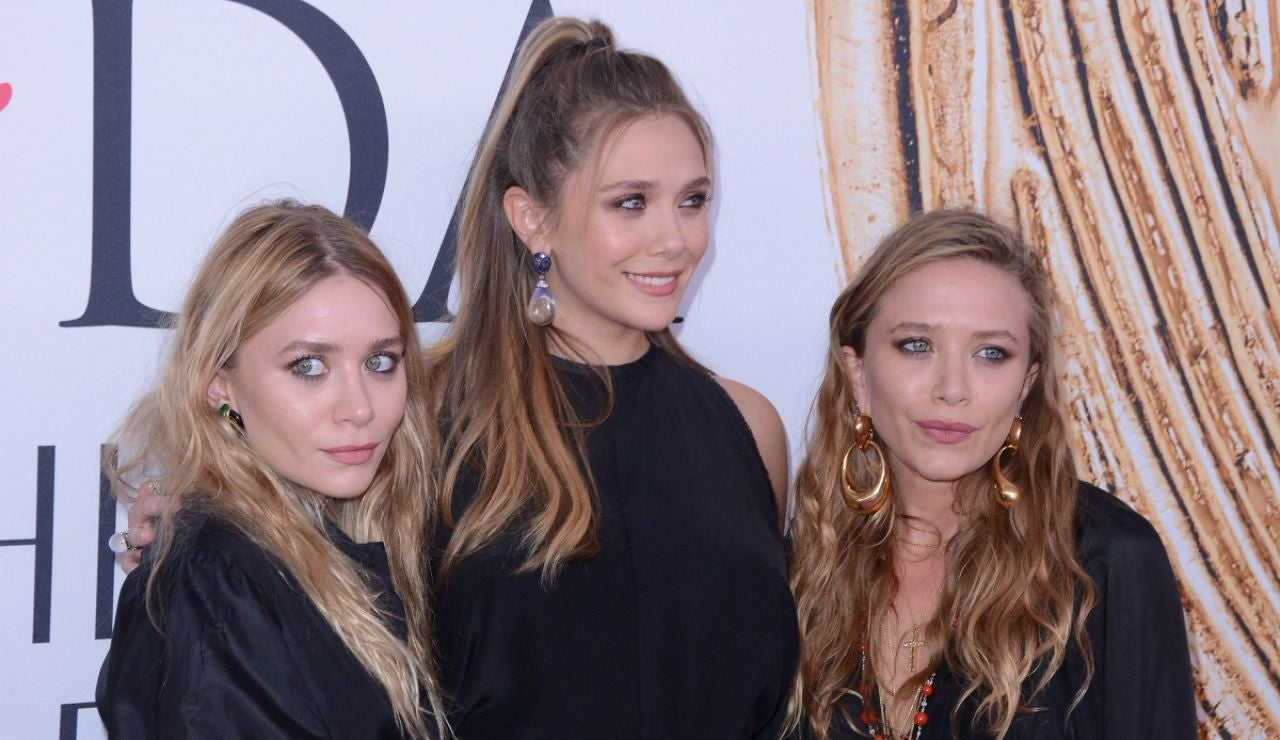 Mary-Kate, Elizabeth y Ashley Olsen