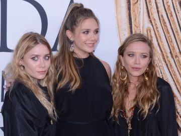 Mary-Kate, Elizabeth y Ashley Olsen