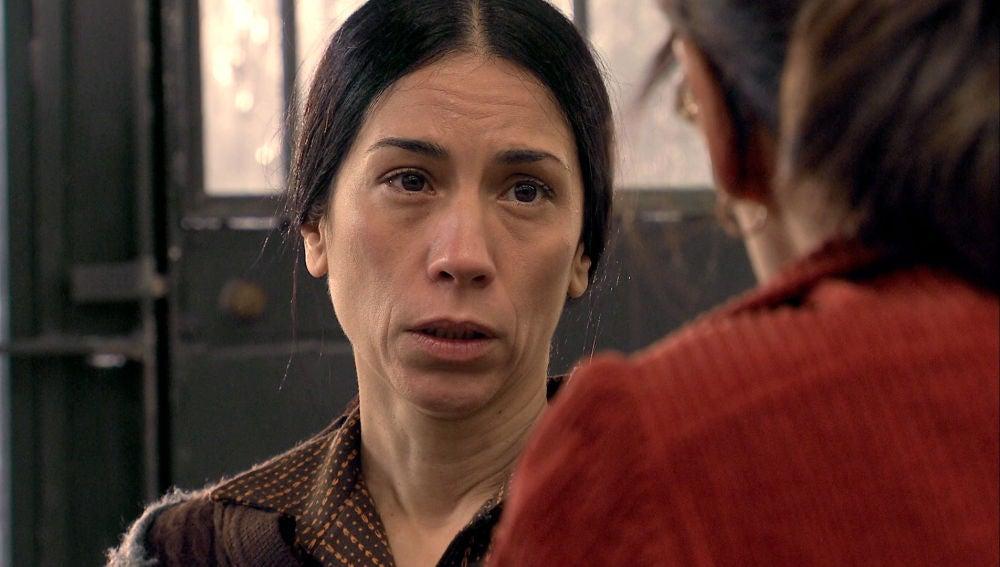 """Manolita recibe a Cristina, decidida a ir a por todas: """"Vamos a ir con la verdad hasta el final"""""""