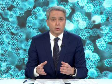 Vicente Vallés, sobre la falta de protocolo cuando sobran vacunas y la frase de Fernando Simón