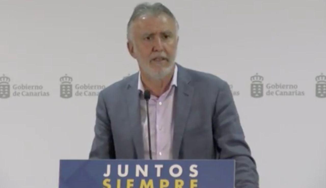 Ángel Torres, presidente de Canarias