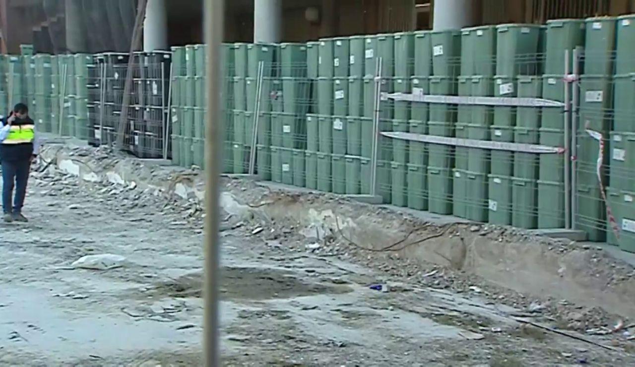 4.000 toneladas de residuos de coronavirus se amontonan a las puertas de varios hospitales de Valencia