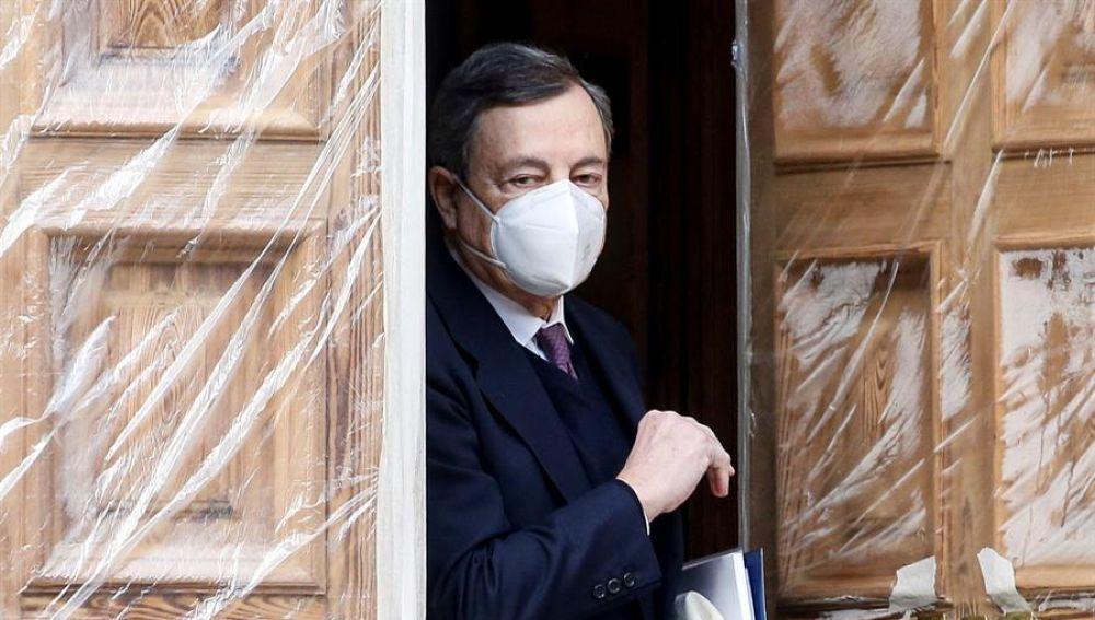 Mario Draghi ha sido el candidato elegido por el jefe de Estado italiano.