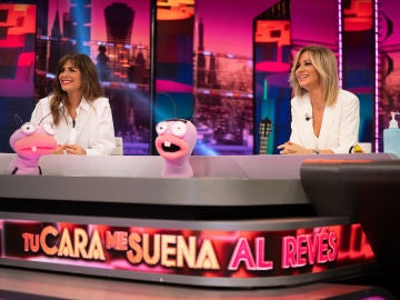 Trancas y Barrancas ponen a prueba el oído de Susanna Griso con 'Tu cara me suena al revés'