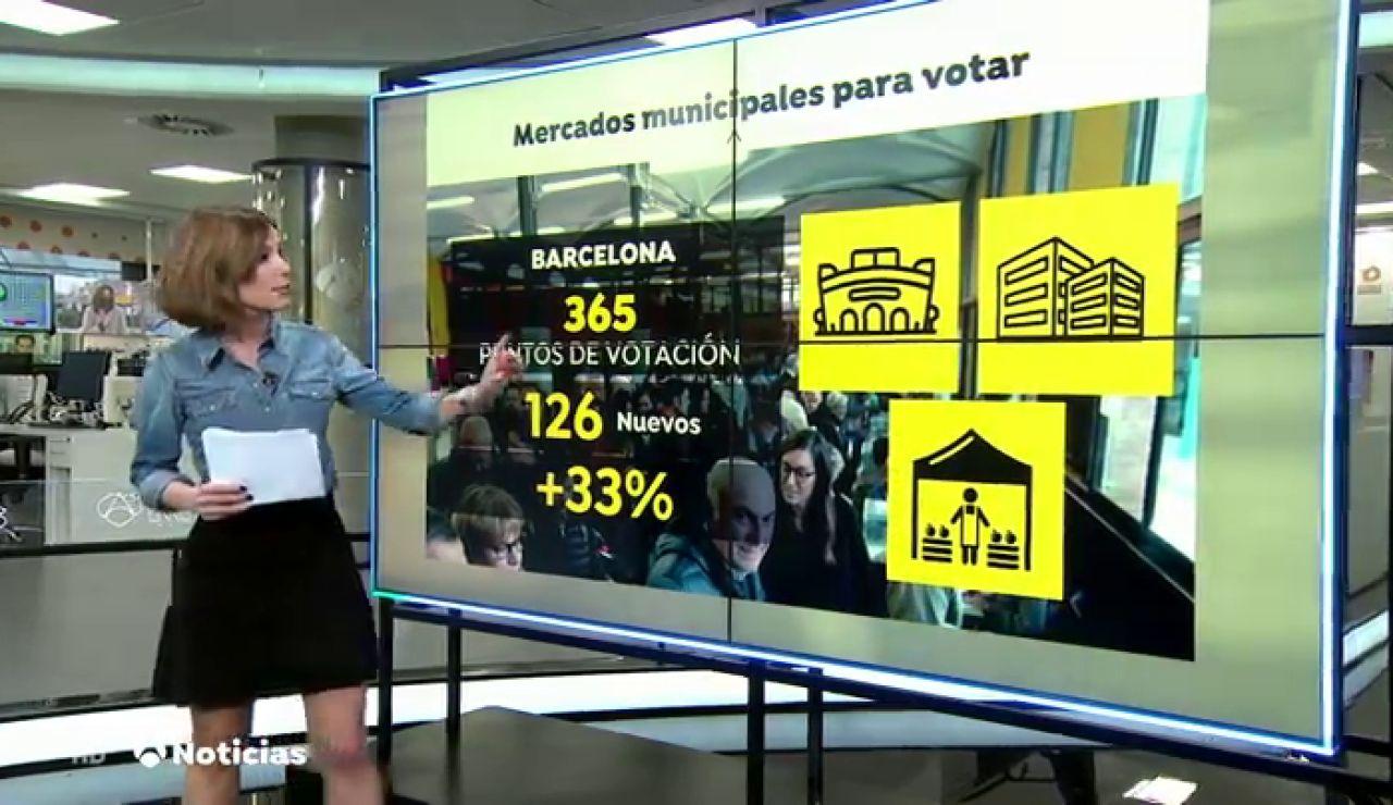 La Generalitat habilitará pabellones y mercados municipales para votar en las elecciones en Cataluña