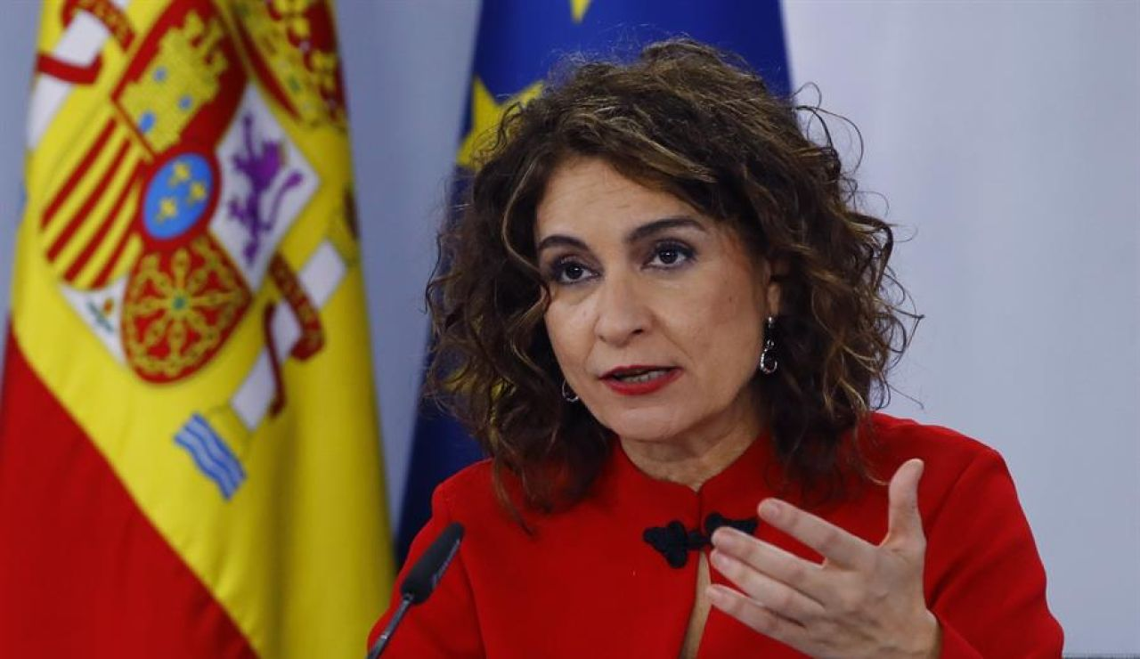 La ministra portavoz, María Jesús Montero