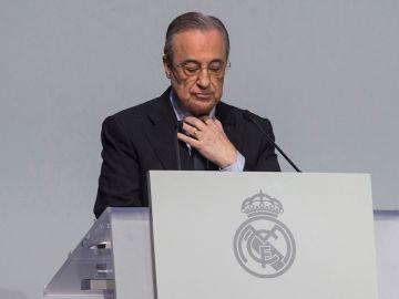 El presidente del Real Madrid, Florentino Pérez, en una imagen de archivo
