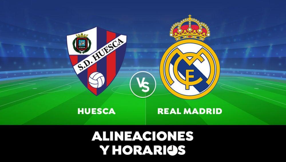Huesca - Real Madrid: Horario, alineaciones y dónde ver el partido de Liga Santander en directo