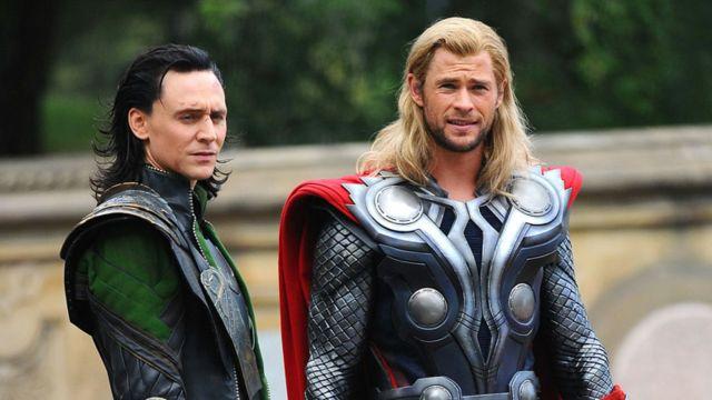 Loki y Thor de Marvel
